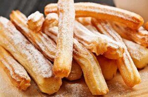 Receta de churros españoles