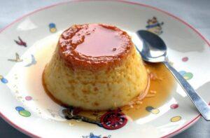 Receta de flan de huevo español