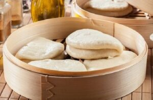 Receta de pan bao oriental