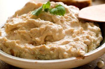 Receta de hummus de garbanzo