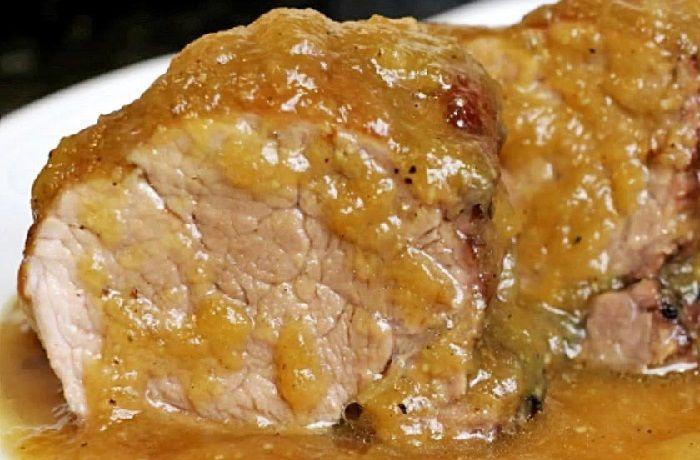 Receta de solomillo de cerdo en salsa española