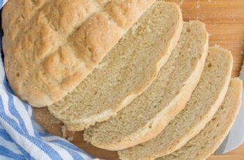 Receta de pan de pueblo español